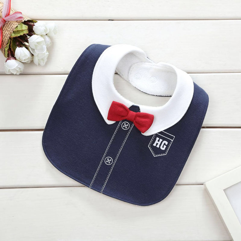 2018 0-3 years baby bibs bib Infant Saliva Towels Newborn Wear Burp Cloths Baby Boy Girl Feeding Bibs waterproof Gray bibs