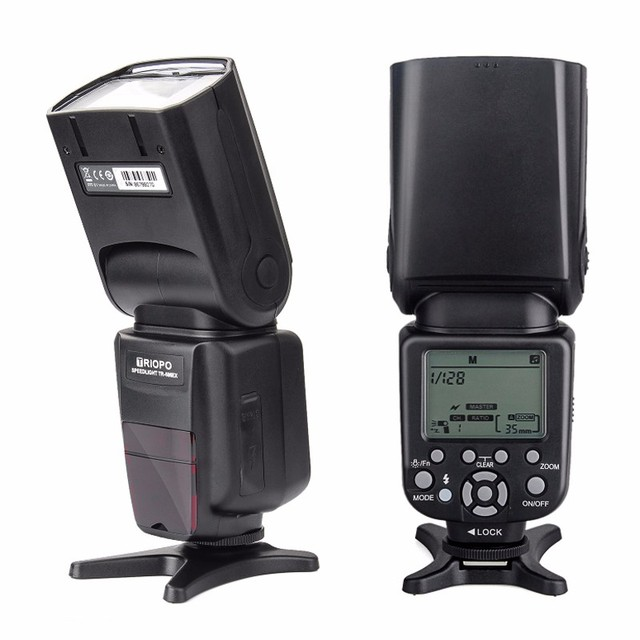 New Triopo TR-586EX Wireless Flash Mode TTL Speedlite Speedlight For Nikon D750 D800 D3200 D7100 DSLR Camera as YONGNUO YN-568EX
