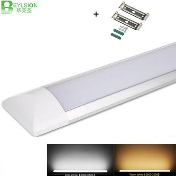 10 sztuk partia tri-proof czyste oczyszczanie rury światła LED liniowe światła Led płaskie listwy światła lampy Led rury 20W 30W 40W do szafy tanie i dobre opinie BEYLSION Zimny biały (5500-7000 k) 2835 Salon AC85-265V DC12-60V 2000 Lumenów i Powyżej 50000 0 3-1 2 Żarówki led Epistar
