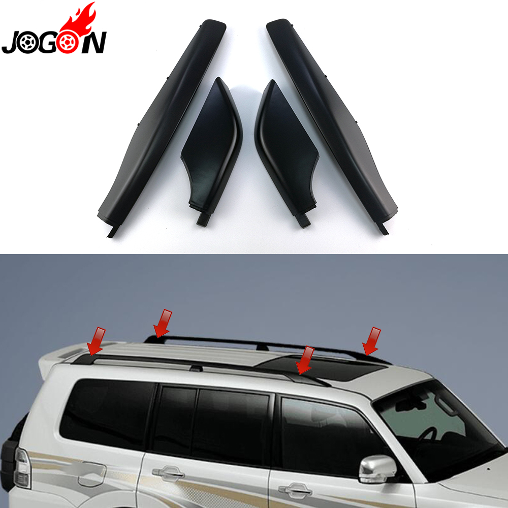 Black For Mitsubishi Montero Pajero Sfx Shogun Super Exceed 1999 2017 Car Styling Roof Rack Cover