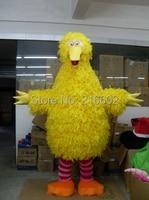 New Yellow Big Bird Costume Mascot Free shipping