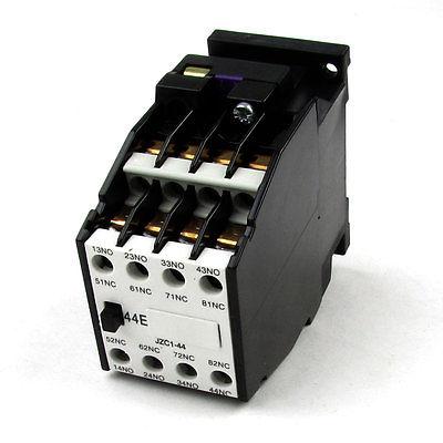 660V 10A 24V 50Hz 29V 60Hz Coils Overload Protector 3 Pole AC Contactor
