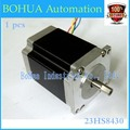 Best sellers! Free shipping 1 PCS, 2 phase, 4-Leads 20Kgcm 76mm CNC Nema 23 Stepper Motor , 3D Printer