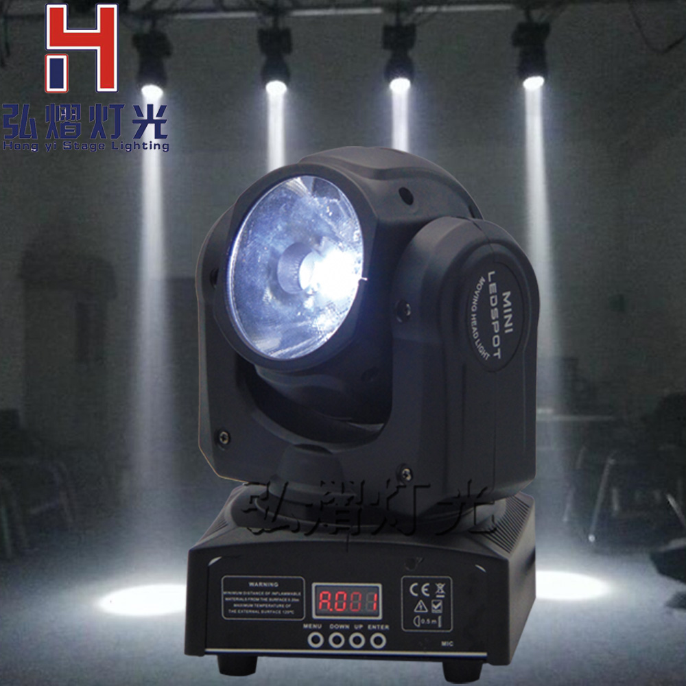 Cheap 60W RGBW 4in1 LED Moving Head Spot Lighting DJ Disco Gobo Christmas Lights DMX512,Auto Run,Sound action Projector for Club newest magic ball lights 2pack 12x3w rgbw 4in1 led gobo effect lights for party disco dj christmas lighting shows fast shipping