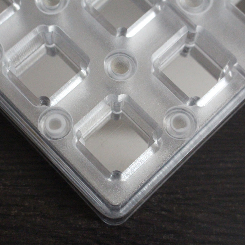 PC Square Shaped Magnetic Polycarbonate Chocolate Mould Hard Plastic Candy Mold