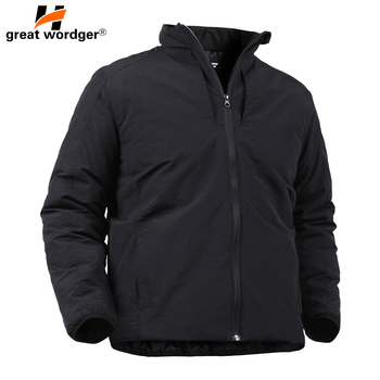 Outdoor Sport Tactical Military Lightweight Coat Men's Jackets Parkas Camping Hiking Thick Cotton Snow Outwear Men Windbreakers