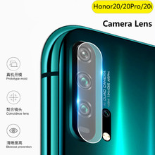XINDIMAN 2pcs Lens Protector Glass on for huawei honor20 HD Clear Tempered honor20i honor20pro Back camera lens