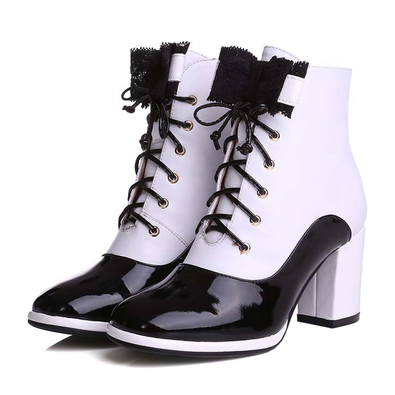 Online Get Cheap Leather White Boots -Aliexpress.com | Alibaba Group