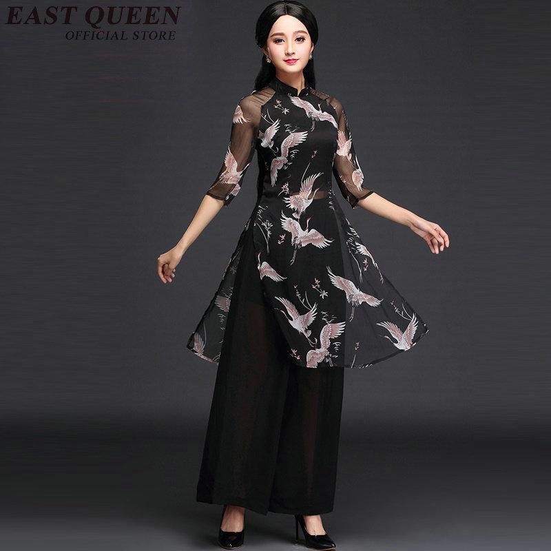 Kadın Giyim'ten Kadın Setleri'de 2018 Yeni pantolon kadın elbise pantolon takım elbise geleneksel japon kimono elbise yaz pamuk uzun kimono elbise AA2183 YQ'da  Grup 1