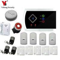 YobangSecurity Wireless Home Security GSM Alarmanlage Alarmanlage PIR Bewegungsmelder Alarm Russisch Spanisch Italienisch Slowakisch