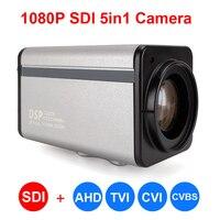 20X зум Автофокус 1080 P SDI Камера SDI + CVBS/AHD/TVI/CVI 5in1 Box SDI CCTV Камера