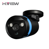 H. VIEW 1080 P CCTV Camera 2 Array LED IR Cut AHD Proiettile Telecamera Esterna Night Vision Security Camera IR-Cut 20 M Facile Installtion