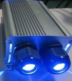 12W Led optic fiber light source;DMX compatible