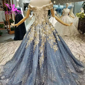 Image 3 - AIJINGYU Plus Size Dress Gowns For Older Brides 2021 2020 Indian Uk Austria Quality Princess Style Gown Wedding Dresses For Sale