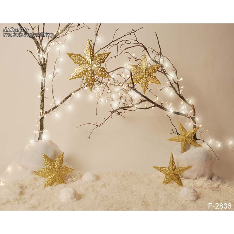 New sale christmas gifts photography backdrops Newborn baby chrismas photo background for celebration  F-2836 new promotion newborn photographic background christmas vinyl photography backdrops 200cm 300cm photo studio props for baby l823