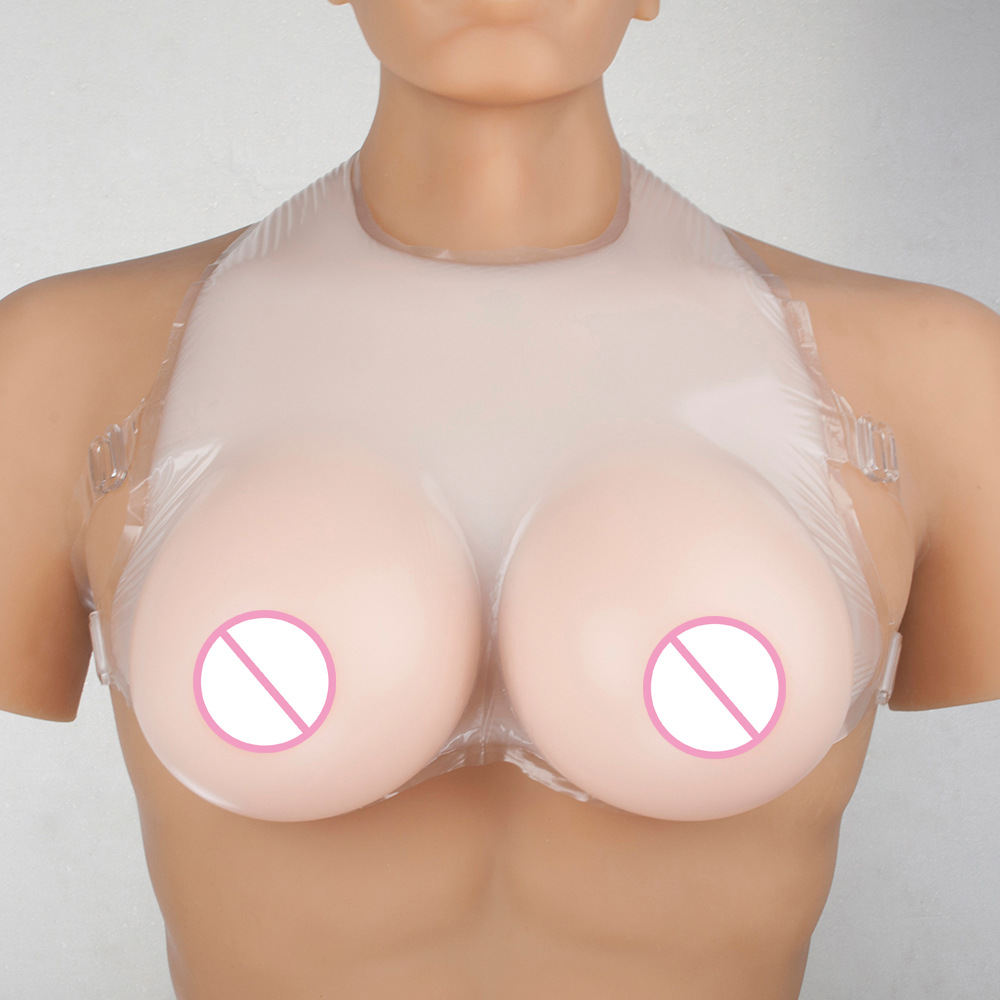 1000g D Cup Realistic Silicone Breast Forms False Breasts For Crossdressers Transvestite Fake Boobs Enhancer Transgender Shemale ivita 1200g realistic silicone breast forms false breasts for crossdressers transvestite fake boobs enhancer transgender shemale