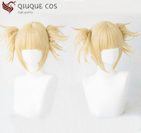 My Hero Academia Boku No Hiro Akademia Himiko Toga Synthetic Hair Anime Cosplay Wig Heat Resistant