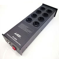 WAudio W 4000 High End Audio Noise Filter AC Power Conditioner Power Filter Power Purifier with EU Outlets Power Strip