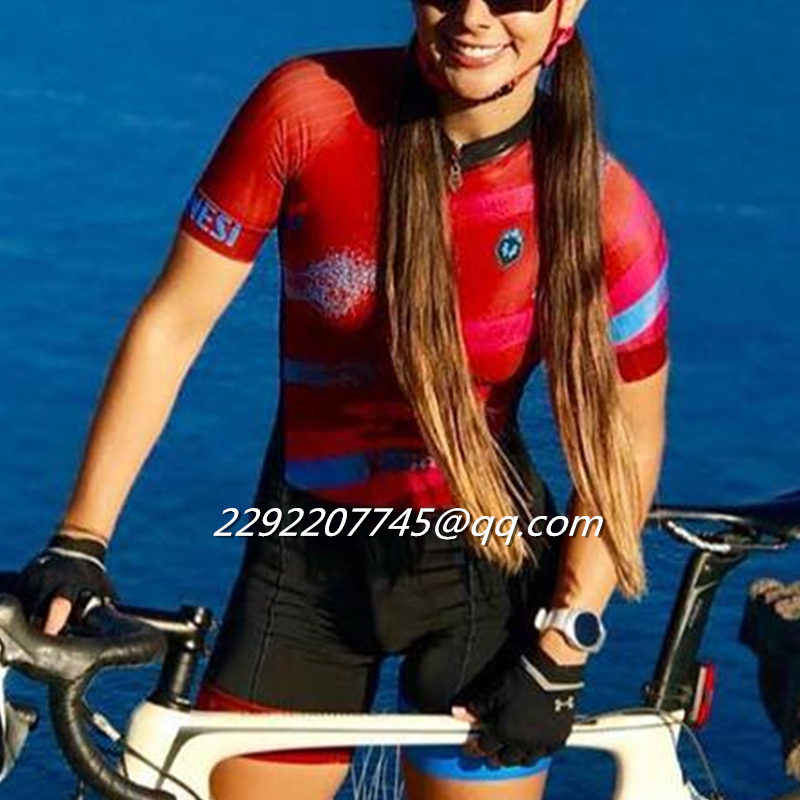 Detail Feedback Questions about 2018 Women Frenesi team skinsuit and Triathlon  sexy body triskinsuit Equipment custom cycling clothing ciclismo maillot ... 92fdf03fa