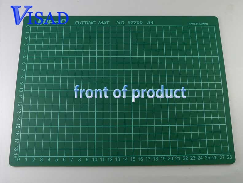 Pvc Self Healing Cutting Mat  With Grid A4 Craft Dark Green Patchwork Tools Cutting Pad Free Shipping