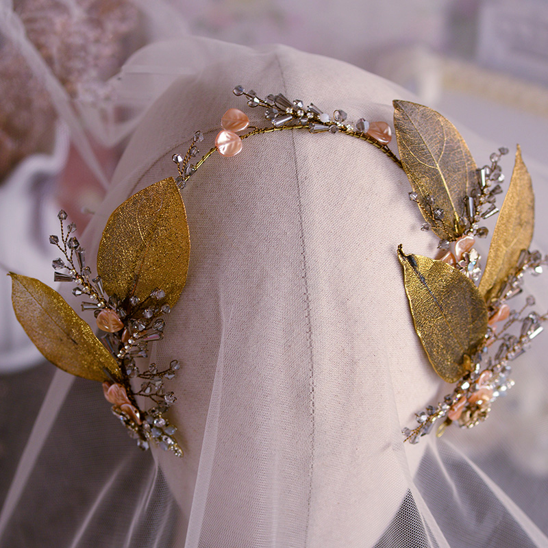 Luxury Baroque Classics Brides Freshwater Pearls Headbands Leaf  Tiaras Hairbands Wedding Hair Accessory Evening Headdress Luxury Baroque Classics Brides Freshwater Pearls Headbands Leaf  Tiaras Hairbands Wedding Hair Accessory Evening Headdress