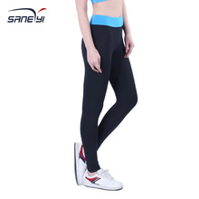 32e Women s Pro Quick Dry Wide Waist Knit Tight Pant Fitness Legging Fitness Tights