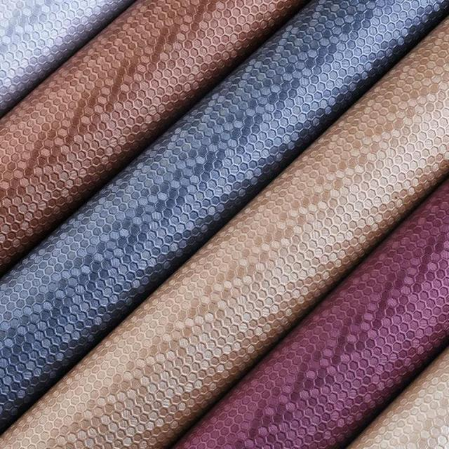 1 Meter Pu Synthetic Leather Material Leather Upholstery Fabric For