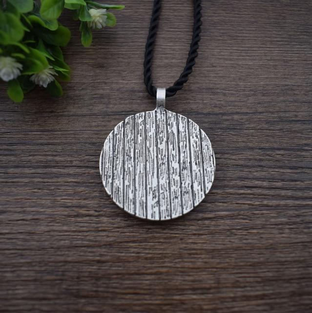 God Odin With Ravens And Wolf Pendant Necklaces Norse Odin Viking Jewelry Slavic Pendant Sanlan Original Jewelry 5