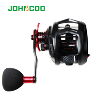 Johncoo Fishing Reel For Big Game 12kg Aluminium Alloy Body Max Power ,7.1:1 for light jigging reel Casting fishing reel 11+1