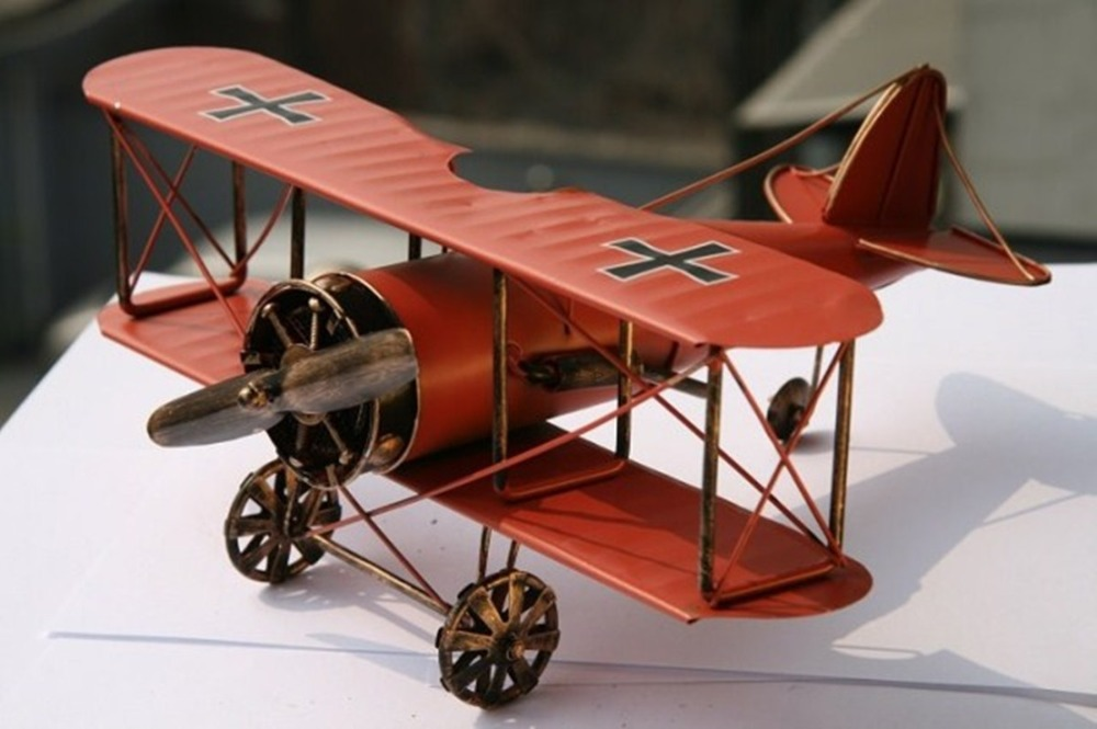 Aliexpress Com Buy 2014 New Home Decor Plane Model Welding Antique Imitation Vintage In Home And Garden Aircraft Model Albatross Aircraft Model From