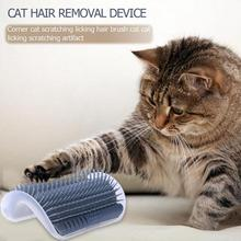 Cat Corner Scratching Rubbing Brush Pet Hair Removal Massage Comb Removable Grooming Cleaning Supplies Dropshipping