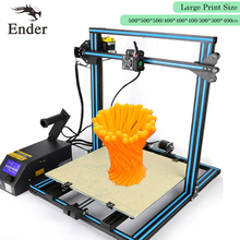 2017 Update CR-10S Printer 3D DIY KIT Filaments Monitoring Alarm Protection with Dual-Leading-Screws Rod n Filaments Creality 3D