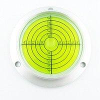HACCURY 90*71*20MM Big Circular spirit level Round level bubble Construction Machinery level measurement instrument