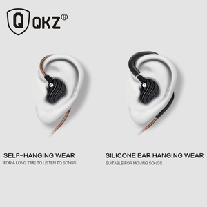 Image 5 - Słuchawki oryginalne słuchawki QKZ KD4 podwójny sterownik z mikrofonem gamingowy zestaw słuchawkowy mp3 zestaw słuchawkowy DJ audifonos fone de ouvido auriculares