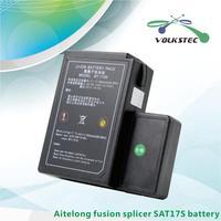 SAT 17S Fusion splicer machine battery BT 1706 Aitelong splicing machine battery