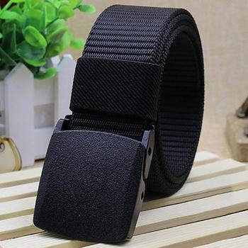 2018 Automatic Buckle Nylon Belt Male Army Tactical Belt Mens Military Waist Canvas Belts Cummerbunds cinto masculino lona