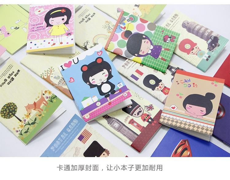 2015 hete verkoop 00531 briefpapier boek dagboek creatieve notebook - Notitieblokken en schrijfblokken bedrukken - Foto 1