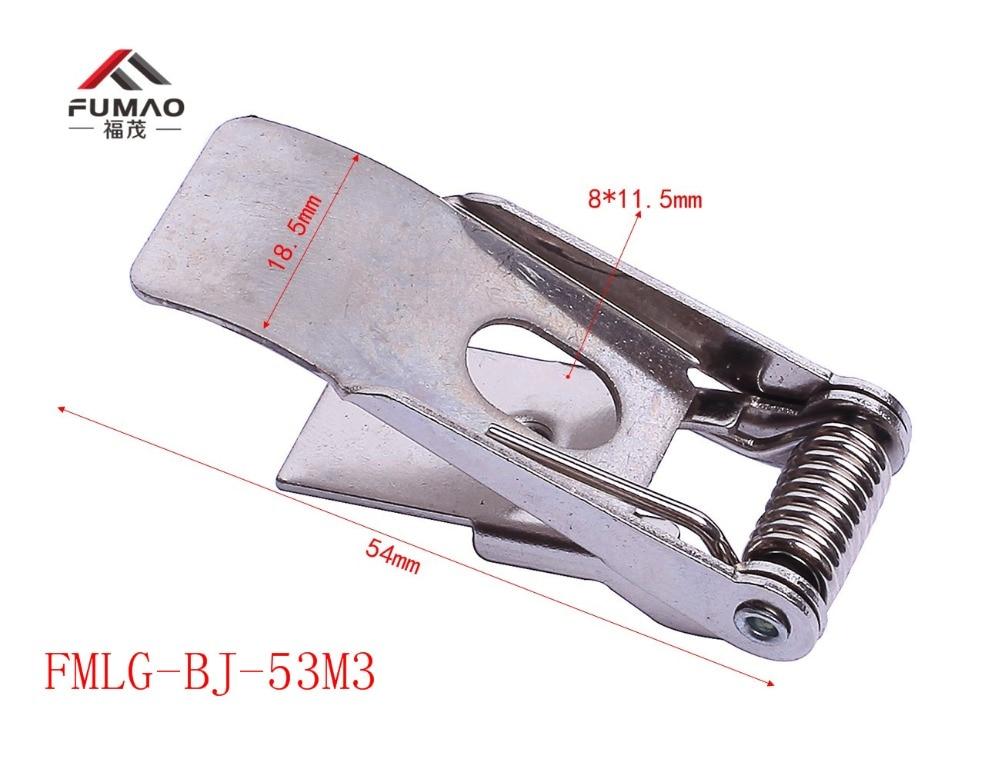 Купить с кэшбэком Manufacture flat metal steel clips for downlight