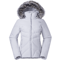 The North Face Goose Down Jacket for Women Comfortable Hooded Thermal Coats Waterproof Wear Resistant Sports Clothes 3KQJ