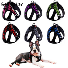 No-pull Sport Reflective Pet Dog Harness For Small Medium Large Outdoor Walking Training Pitbull Chest Vest
