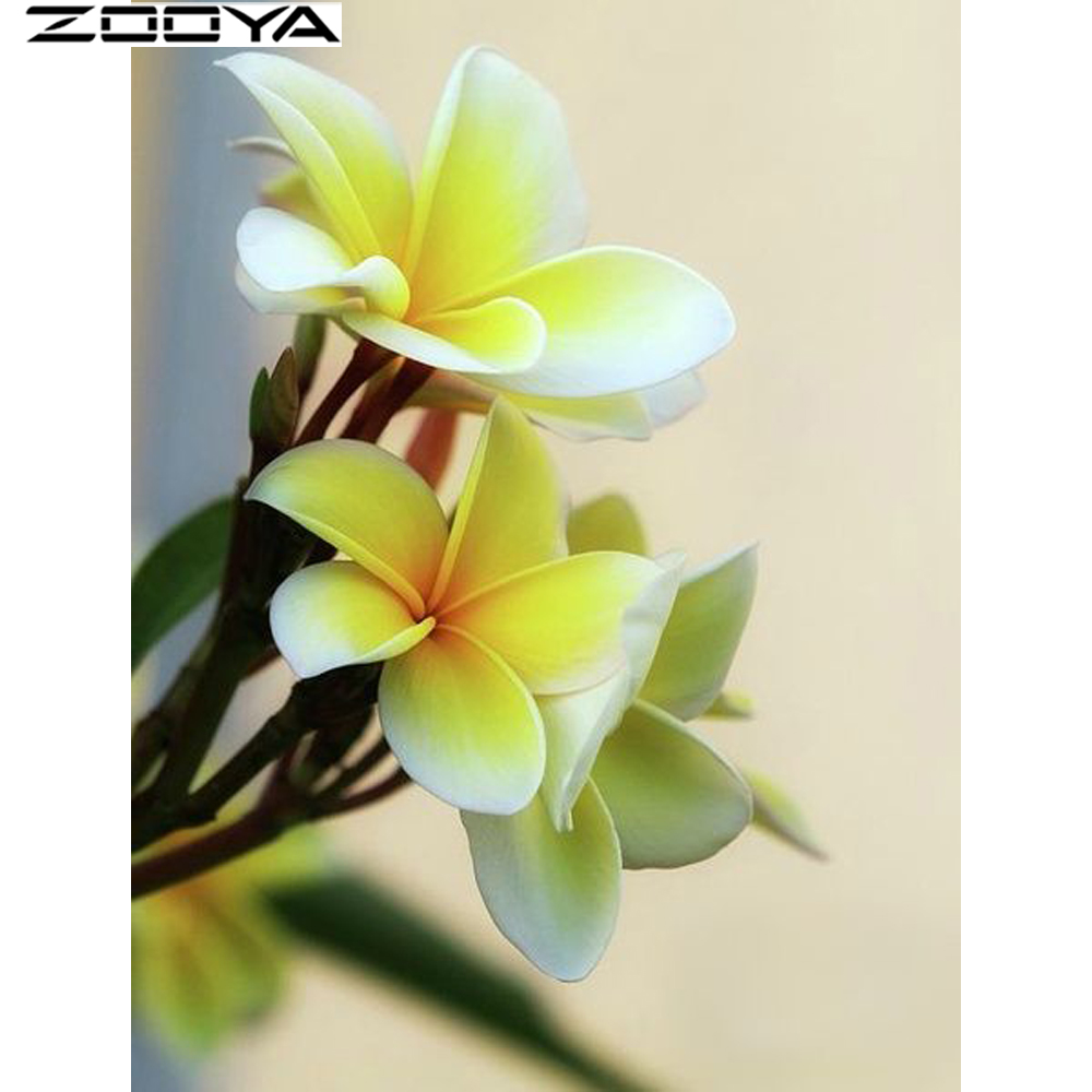 ZOOYA New Arrival 5D DIY Diamond Painting Crystal Diamond Cross Stitch Floral Diamond Embroidery Decoration Home Decorat R256 ...