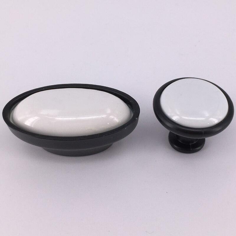 Us 924 12 Off5 Stks Keuken Kast Knop Deur Kast Lade Meubelen Eenvoudige Zwart Wit Keuken Kledingkast Trek Handvat In 5 Stks Keuken Kast Knop Deur
