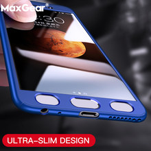 Ultra Thin 360 Full Protective Casa Case For Samsung Galaxy A5 A7 A8 A6 2018 Plus 2016 A3 2017 A8S Hard PC Cover Tempered Glass(China)