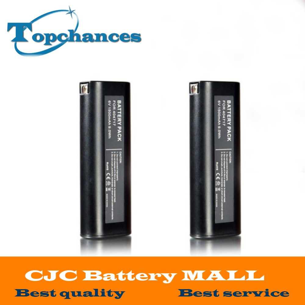 2 STÜCKE 1.5AH 6 V Batterie für PASLODE BCPAS-404717CF-325 IM200-F18 ...