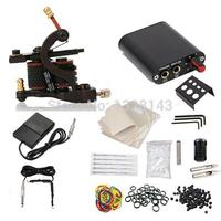Wholesale CompleteTattoo Starter Kit Machine Guns Color Inks Supply Set Equipment Freeshipping