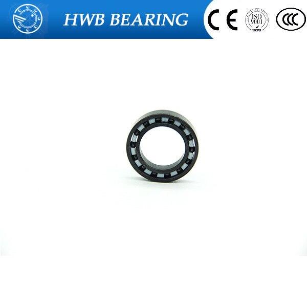 Free shipping high quality MR104 full SI3N4 ceramic deep groove ball bearing 4x10x4mm