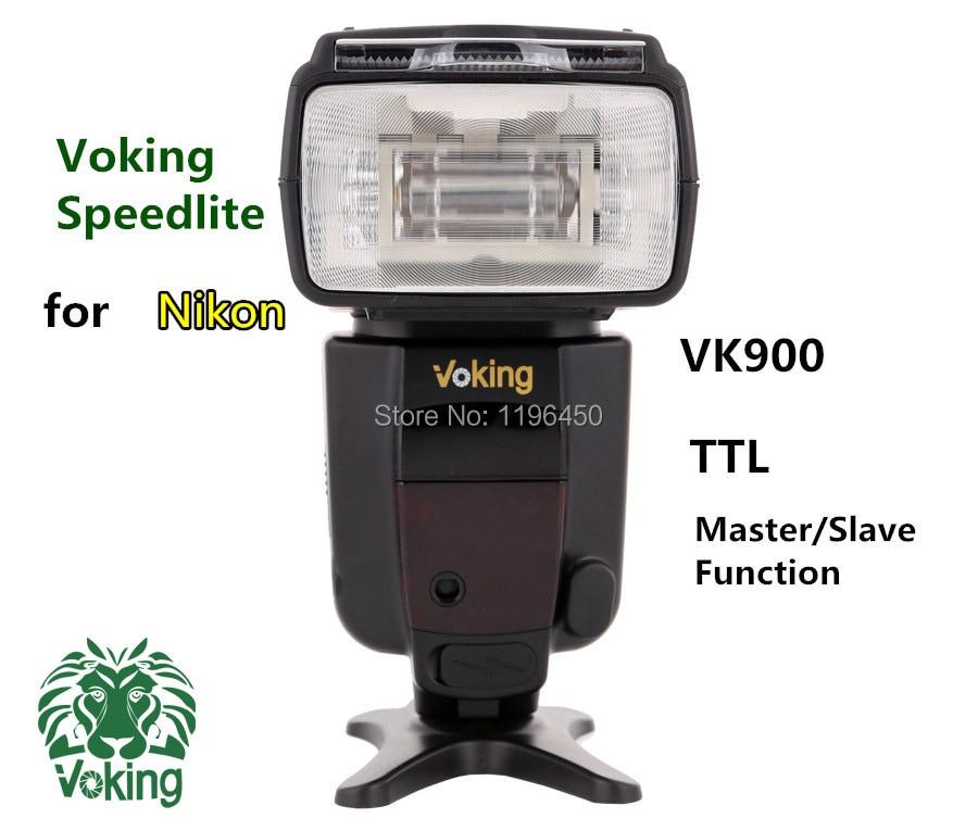 Voking Free shipping upgraded flash TTL Speedlite VK900 for Nikon D90 D3000 D3100 D5100 D5200 D7000 D7100 Digital SLR Cameras профессиональная цифровая slr камера nikon d3200 18 55mmvr
