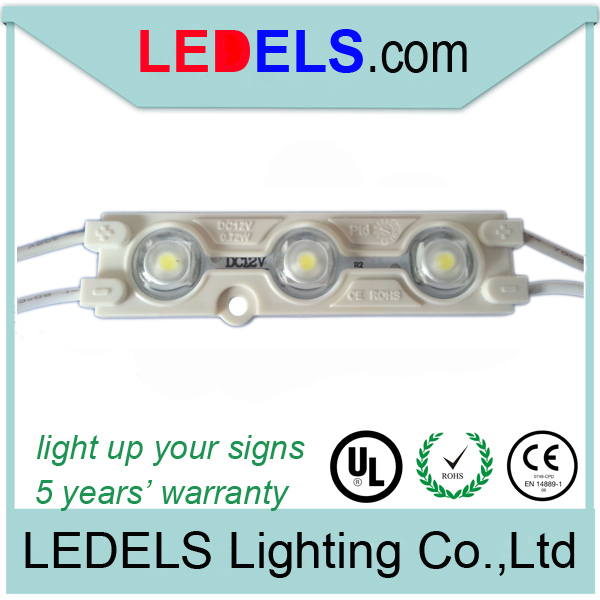 2835 smd led modules for channel letters, moduli led per insegne, 12v 0.72watt CHANNELLETTER led module light for signage letter