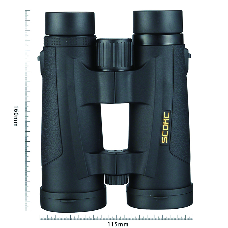 SCOKC 8x42 Compact Binoculars for Bird Watching Waterproof Bak4 Nitrogen Filled Telescope for travelling Hunting Birding