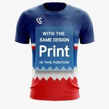 Индивидуальная спортивная одежда быстросохнущая дышащая рубашка для бадминтона, Женская/Мужская одежда для настольного тенниса командная игра для фитнеса для бега для тренировок Спорт